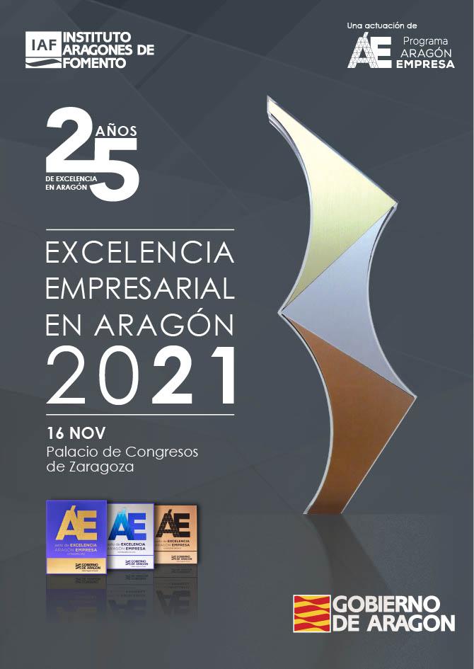 Ceremonia Excelencia Empresarial Aragón 2021