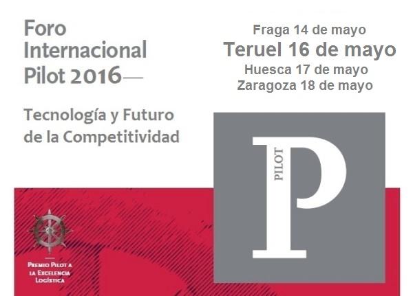 Foro PILOT 2016 en Teruel, 16 de mayo