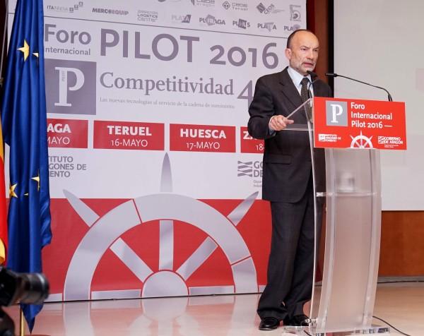 Ramón Tejedor, Director Gerente del IAF, inaugura el Foro PILOT 2016 TERUEL