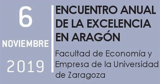 Encuentro Anual de la excelencia en Aragón 6 Nov.'19
