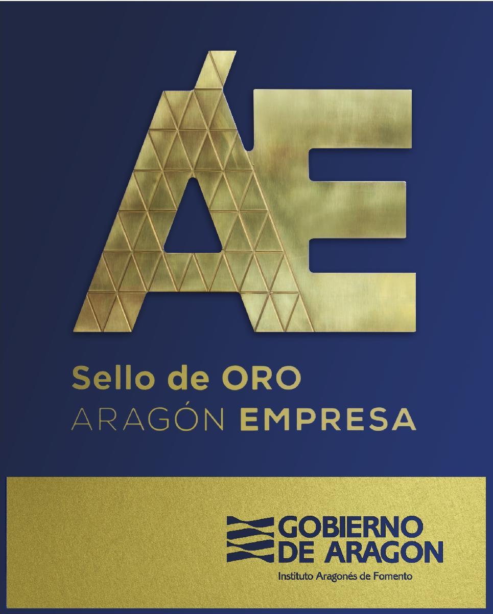 SELLO DE ORO ARAGÓN EMPRESA