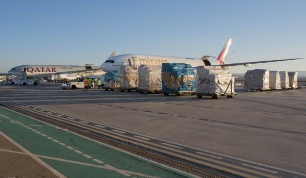 Centro de carga del Aeropuerto de Zaragoza